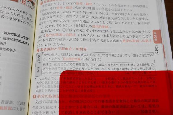 LEC出る順行政書士 最重要論点250 赤シート